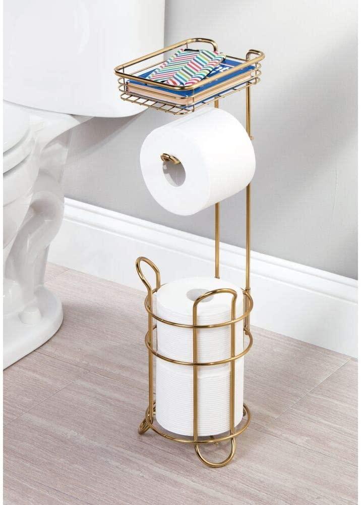 Bathroom storage ideas toilet paper holder