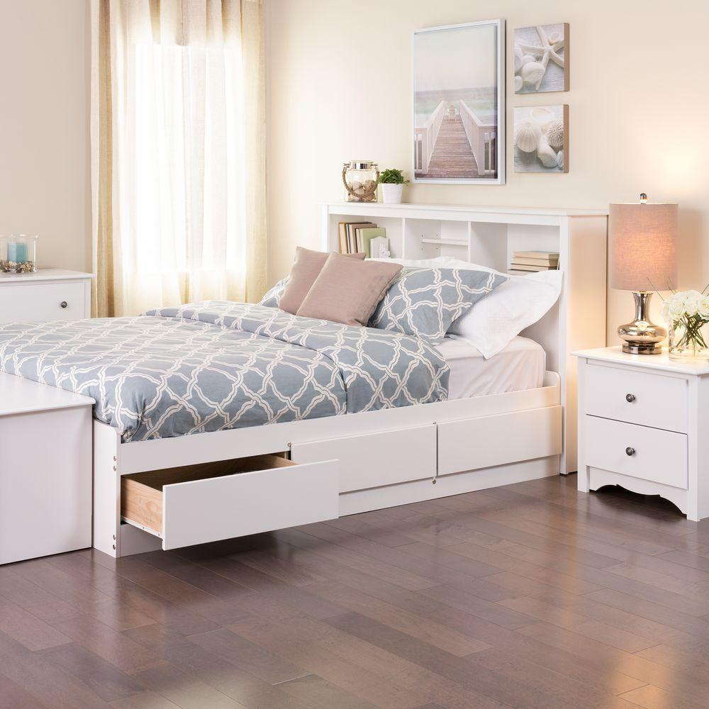 Bedroom organization ideas bed frame drawers