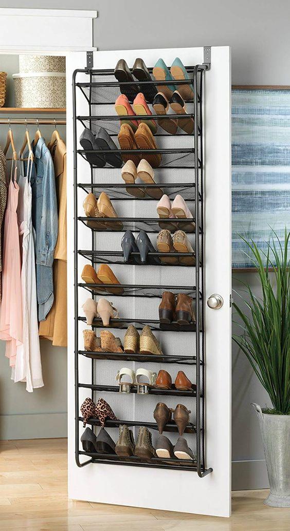 Bedroom organization shoe rack
