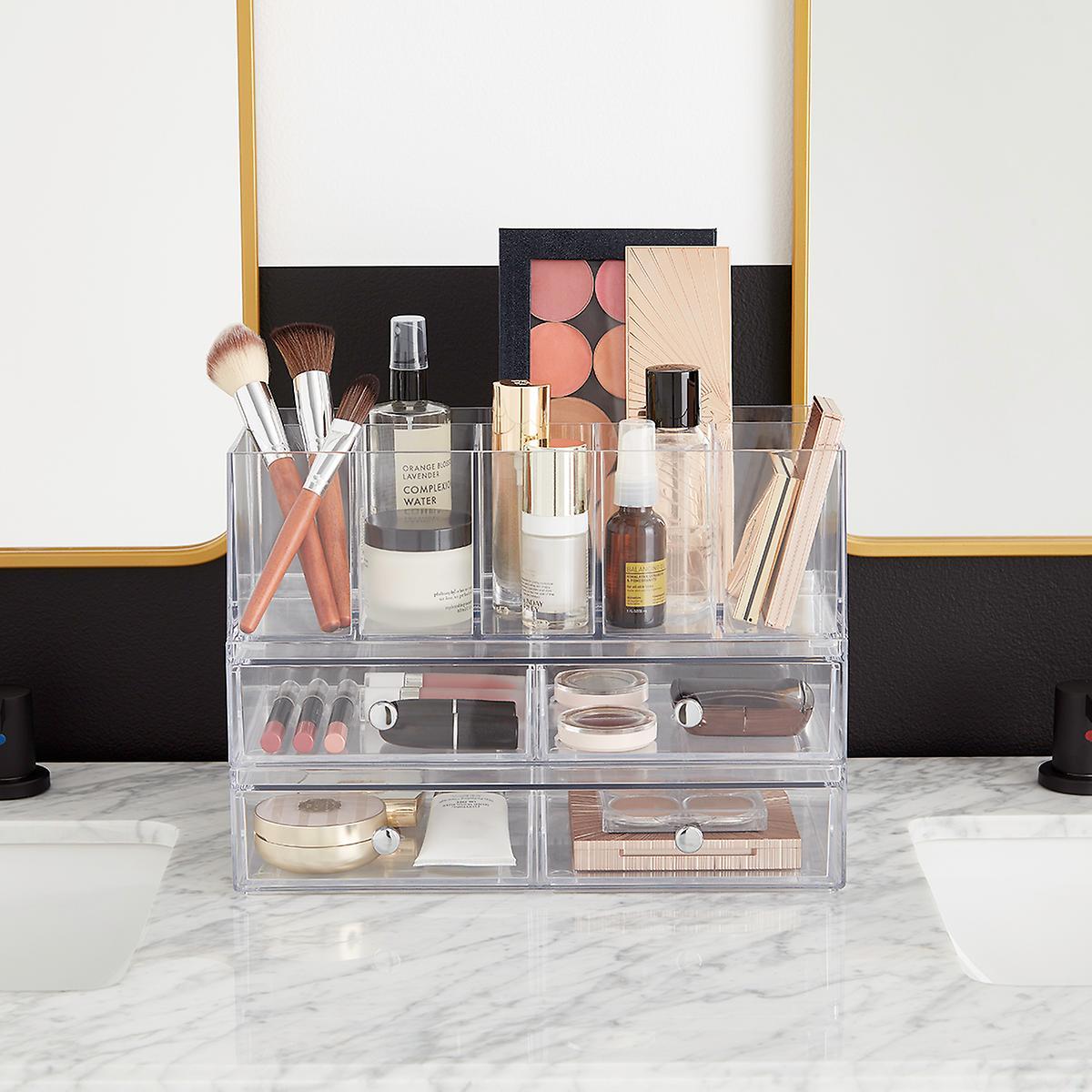 Bedroom organizer cosmetic storage