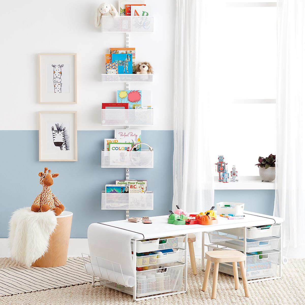 Bedroom organizing ideas wall rack