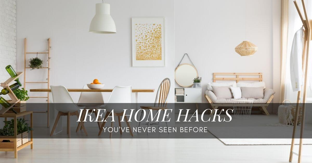 30 Ikea Furniture And Home Hacks The Modern Mocha