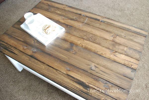 Ikea DIY farmhouse table