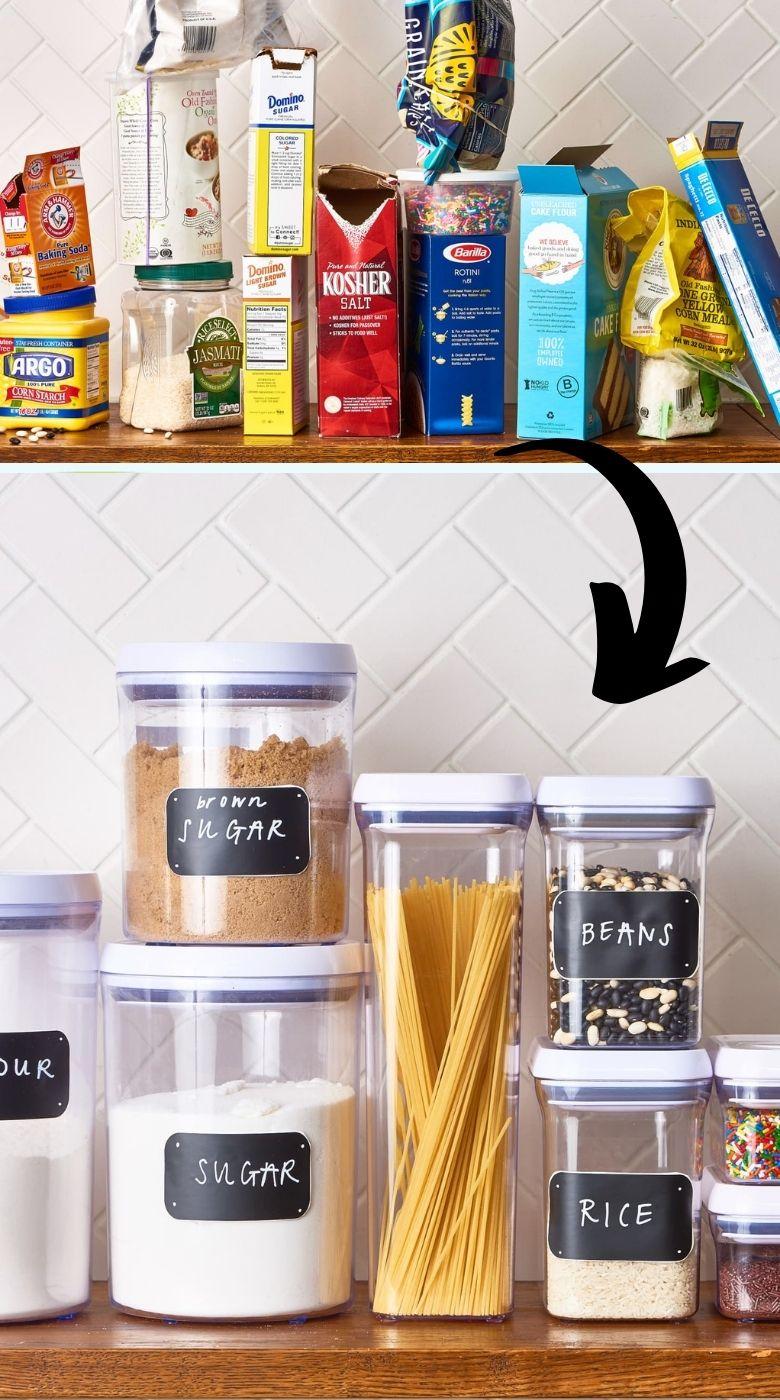 Kitchen organization storage hacks