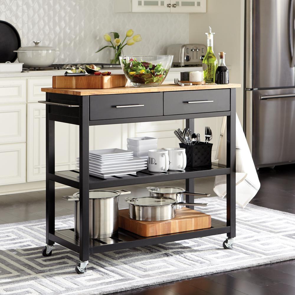 Kitchen organizer cart