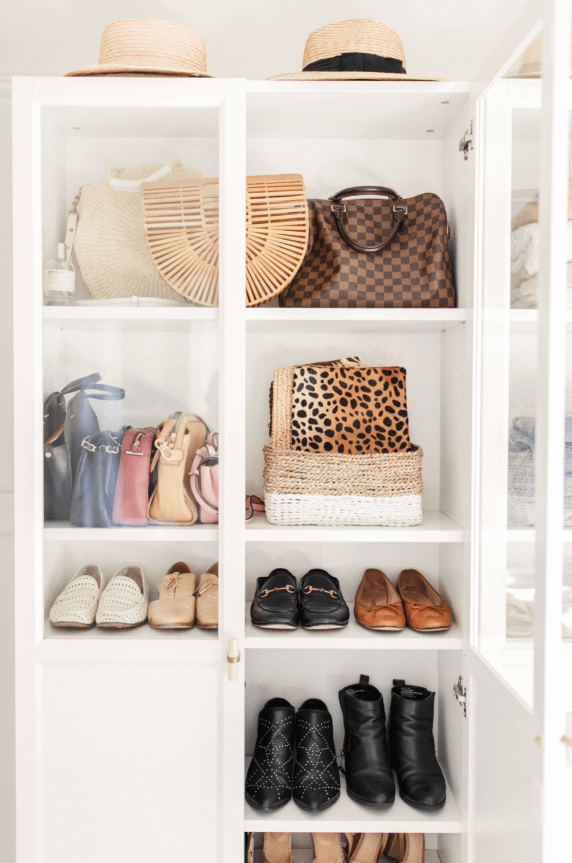 bill bookcase shoes and storage