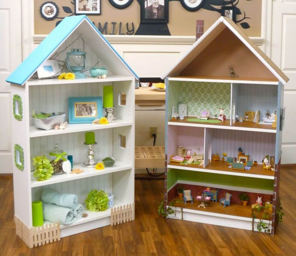 billy bookcase doll house hack