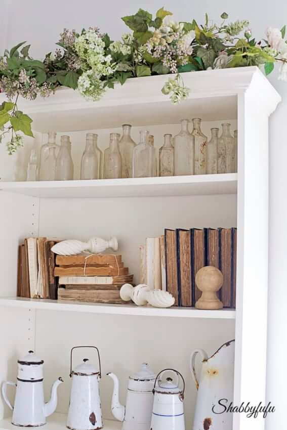 billy bookcase french style hack