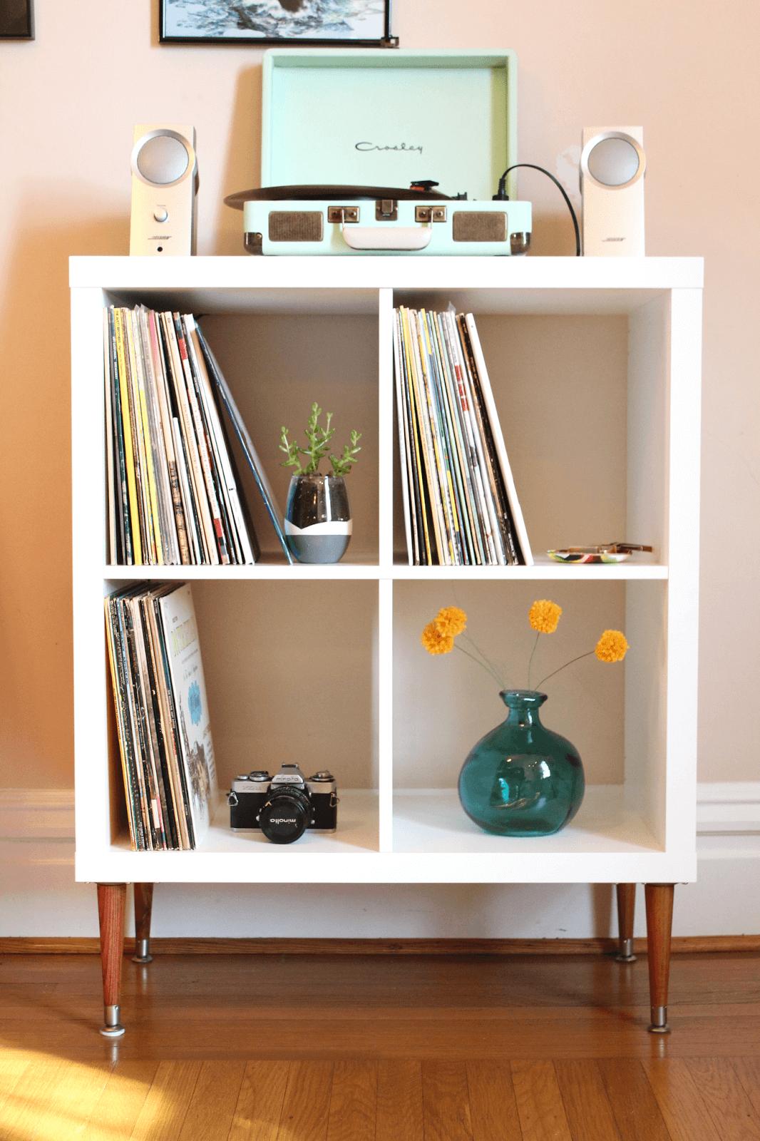 ikea kallax hack DIY shelf