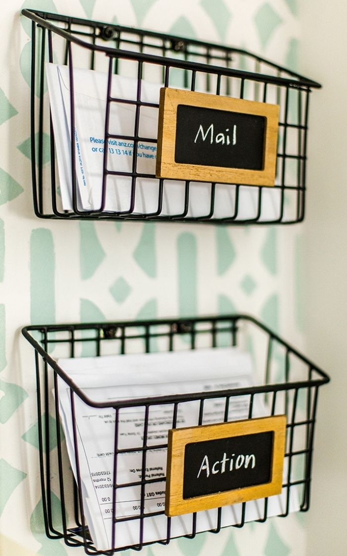Office-organization-ideas-diy-mail-baskets