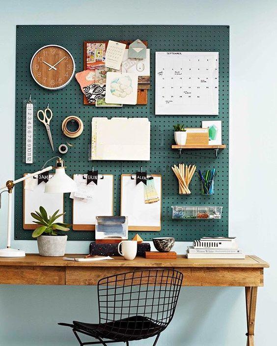 Office-organization-ideas-pegboard