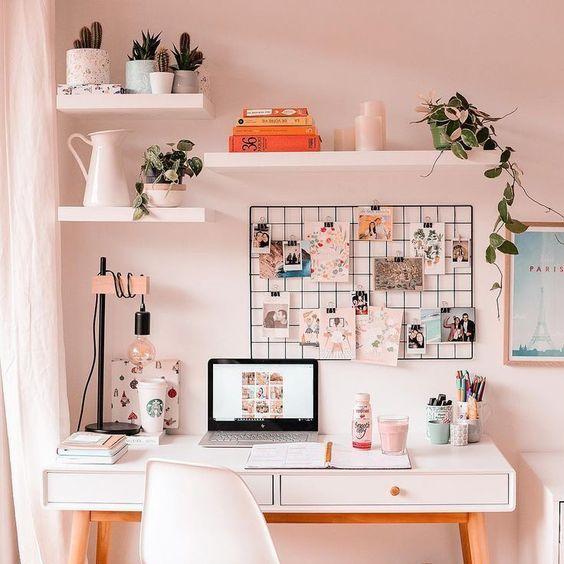 Office-organization-ideas-wall-shelves