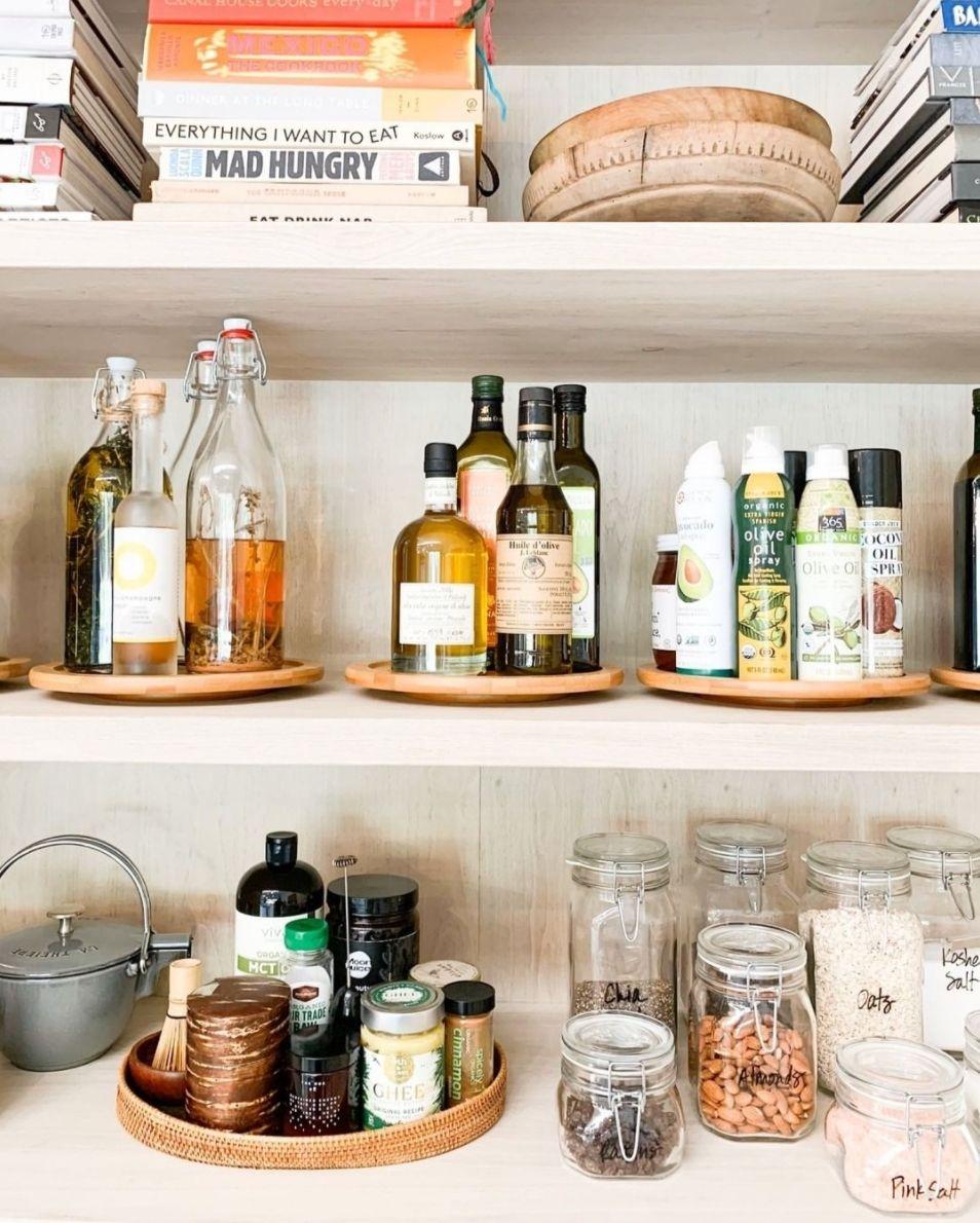 Kitchen-cabinet-organizer-turn-table