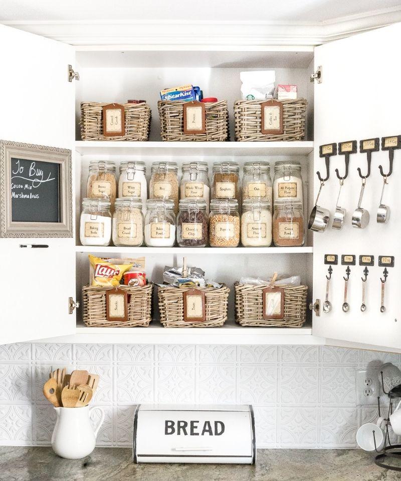 Kitchen-cabinet-organization-remove-packaging