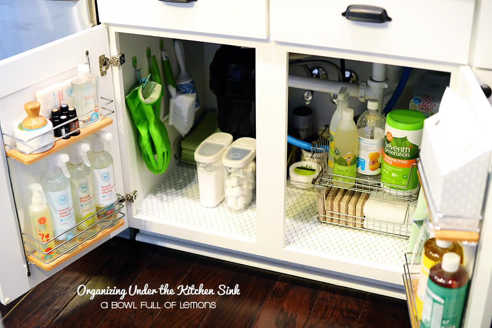 Organizing-ideas-under-the-kitchen-sink