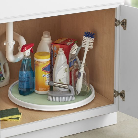 Under-kitchen-sink-organizer-lazy-susan