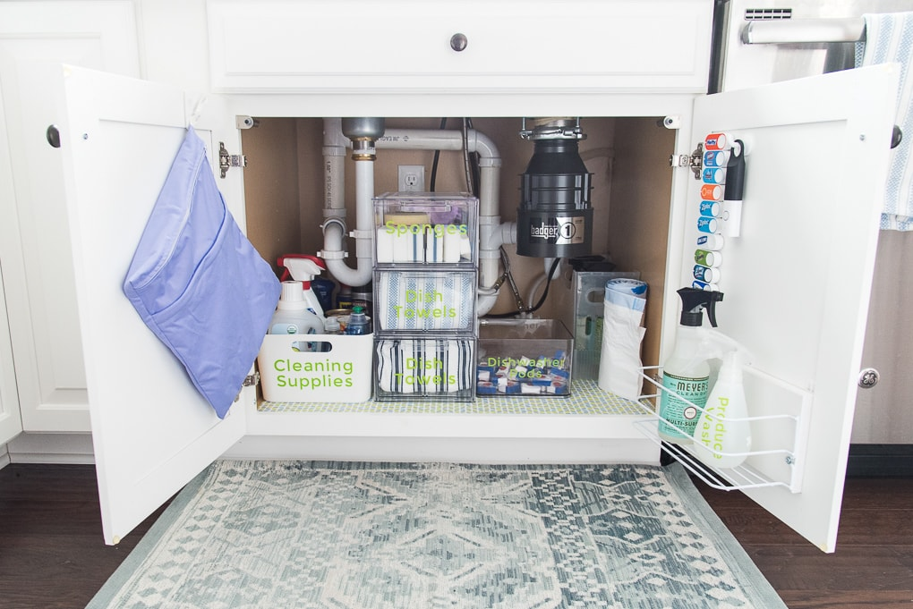 Under-sink-organizer-clear-containers