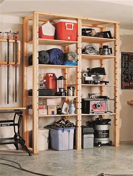 DIY-shelving-unit-for-garage