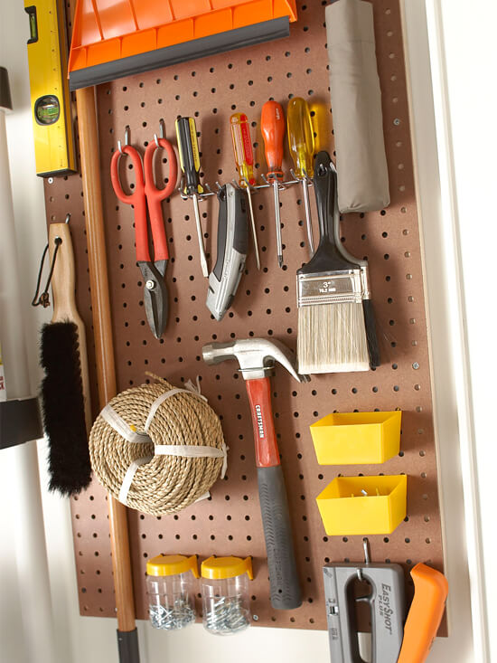 Pegboard-organizer-for-supplies