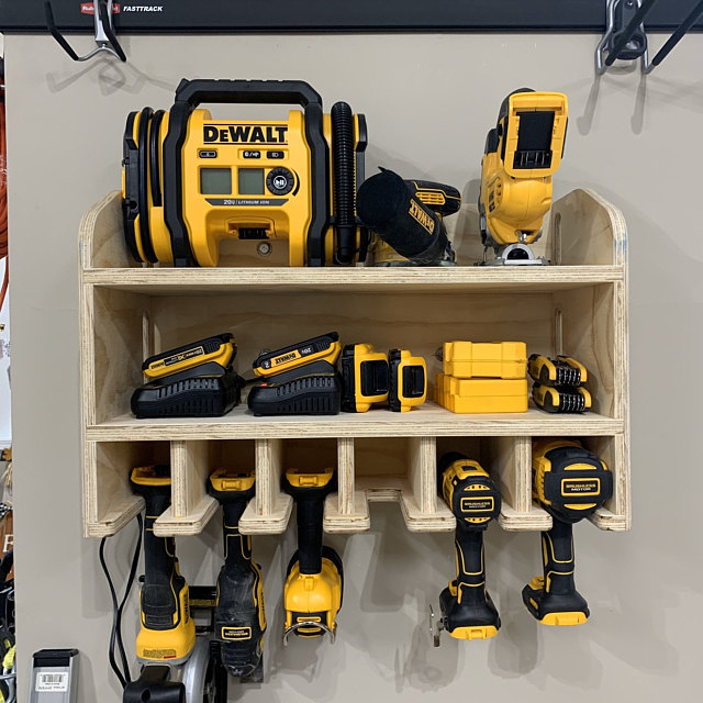 Power-tool-organizer-for-your-garage