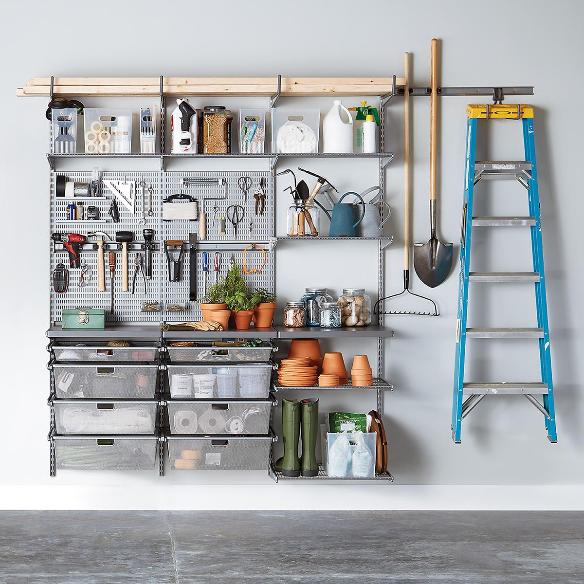 Garage-organization-ideas-wall-racks